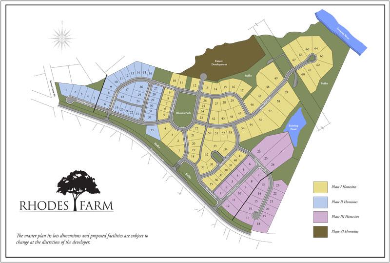 Master Plan Image | Rhodes Farm